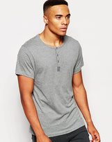 Esprit Lounge T-shirt In Regular Fit - Grey