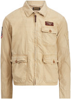 Ralph Lauren Cotton Twill Flight Jacket
