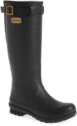 Pendleton Embossed Tall Waterproof Rain Boot