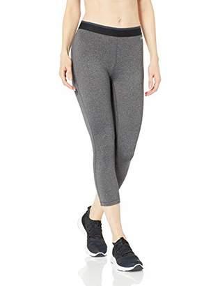 Amazon Essentials Women's Elastic Waist Performance Capri Legging