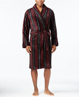 Club Room Men's Burgundy Striped Robe, Only at Macy's