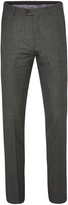 Oxford Hopkins Wool Suit Trousers Nvy X