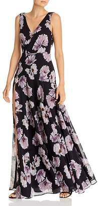 Fame & Partners Escala Floral-Print Dress