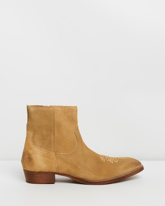Office Clint Western Boots