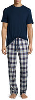UGG Grant Plaid Two-Piece Pajama Gift Set