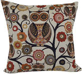JCPenney Brentwood Originals Wise Old Owl Jacquard Decorative Pillow