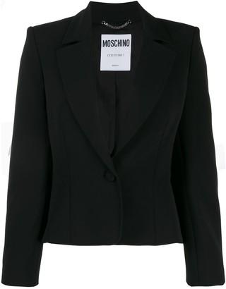 Moschino Cropped Blazer