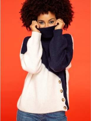 M&Co Khost Clothing Colour block jumper