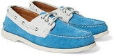 Quoddy - Downeast Two-tone Suede Boat Shoes