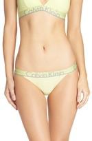 Calvin Klein Women's Logo Cotton Tanga