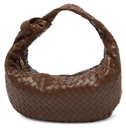 Bottega Veneta Small Jodie Leather Hobo Bag