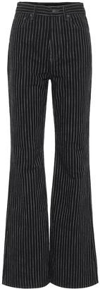 Acne Studios 1990 Pinstripe Bootcut Jeans