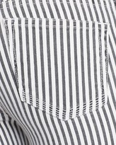 TEXTILE Elizabeth and James Jeans - Cooper in Black and White Stripe