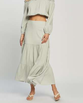 Atmos & Here Kinslee Midi Skirt