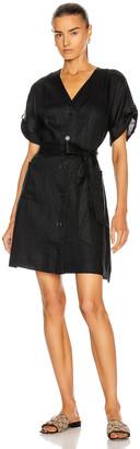 Equipment Bernyce Dress in True Black | FWRD