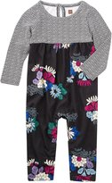 Tea Collection Kibo Empire Romper (Baby) - Jet Black - 12-18 Months Baby - 12-18 Months