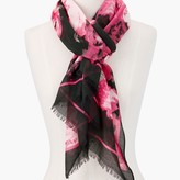 TALBOTS PICNIC FLORAL SCARF