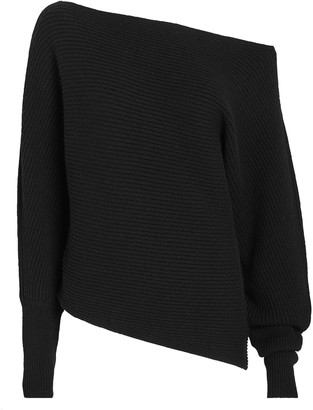 Intermix Jacqueline Off-The-Shoulder Sweater