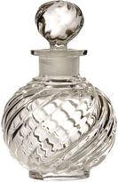 One Kings Lane Vintage Baccarat Swirl Crystal Perfume Bottle