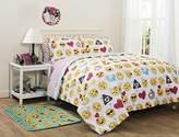 Emoji Pals Reversible Bed in a Bag Comforter Set, Full