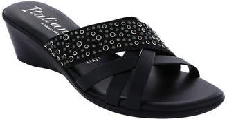 Italiana By Italian Shoemakers Womens Flairr Wedge Sandals