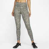 Nike Women's Leopard Mid-Rise 7/8 Tights One