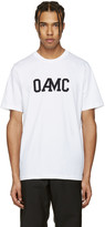 Oamc White Isle Logo T-shirt