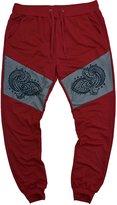 Stone Touch Men's casual stylish pattern jogger sweatpants color #L-18