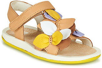 Camper TWINS girls's Sandals in Brown