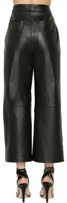 ZUHAIR MURAD Cropped Leather Pants