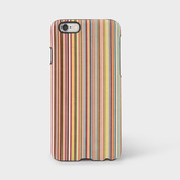 Paul Smith Signature Stripe Leather iPhone 6 Case