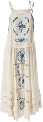 Free People \N Ecru Cotton Dresses