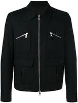 Neil Barrett zip detail jacket - men - Polyamide/Spandex/Elastane/Cupro/Wool - M