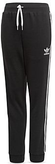 adidas Unisex Trefoil Cotton Blend French Terry Track Pants - Big Kid