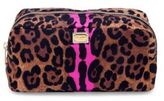 Dolce & Gabbana Necessaire Leopard-Print Nylon Cosmetic Case