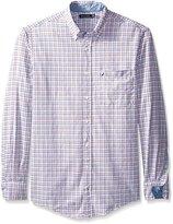 Nautica Men's Big-Tall Tattersall Oxford Shirt
