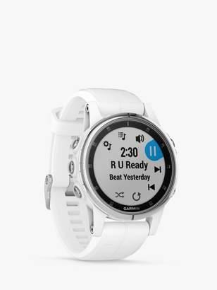Garmin fenix 5S Plus Sapphire GPS Multisport Watch, 4.2cm