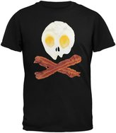 Old Glory Eggs And Bacon Skull And Cross Bones Youth T-Shirt