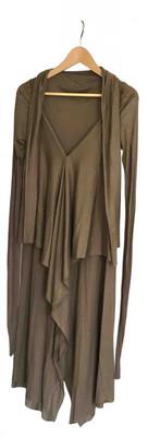Rick Owens Lilies Brown Viscose Dresses