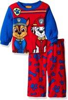 Nickelodeon Boys' Paw Patrol 2-Piece Fleece Pajama Set