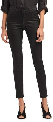 DKNY Skinny-Fit Coated Jeans