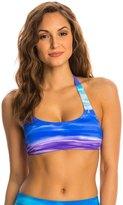 Reebok Summer Sky Lexy Sports Bra Bikini Top 8143627