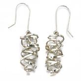 Just Trade Laurita Earrings Silver