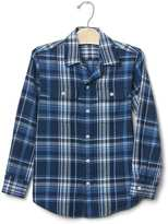 Gap Cedar plaid twill shirt