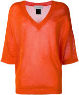 Christian Wijnants knitted top - women - Viscose - M