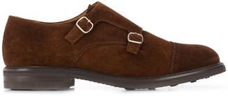 Berwick Shoes Marron monk shoes