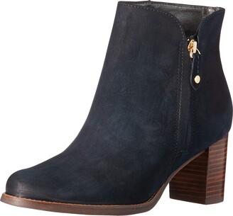 Marc Joseph New York Women's Leather Block Heel Ankle Boot