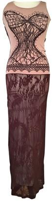 Christian Lacroix Burgundy Dress for Women Vintage