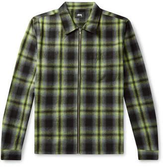 Stussy Gunn Checked Flannel Overshirt
