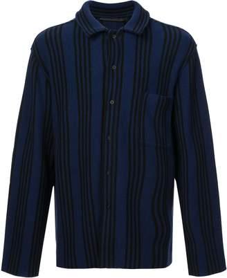 Haider Ackermann Striped Long-Sleeve Shirt